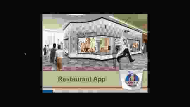 cobra restaurant demo app