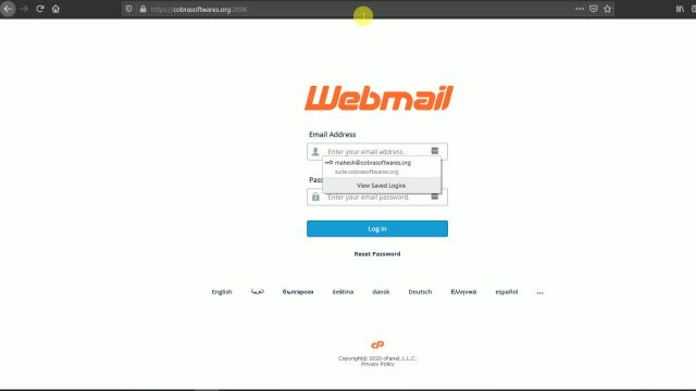 How to view webmail