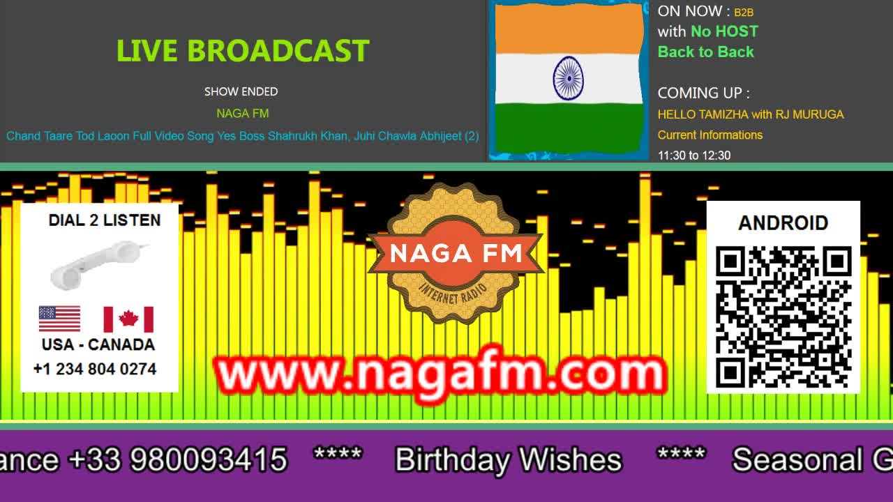 NAGA FM Live Happy Birthday 2018