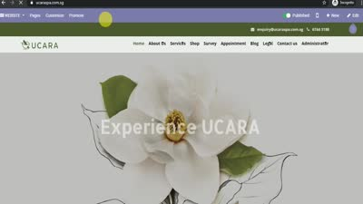 Ucara Website Demo
